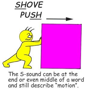 shove