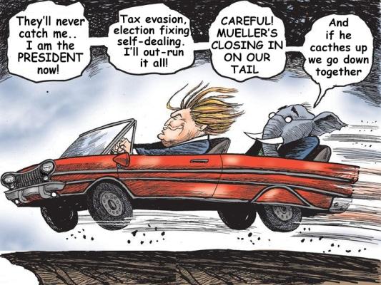 trump-car